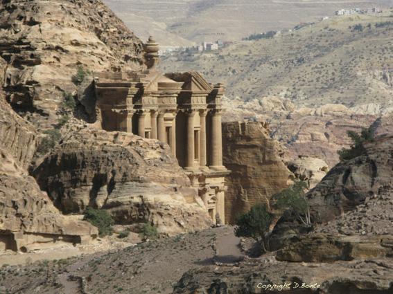 Jordanie-Petra-Monastere