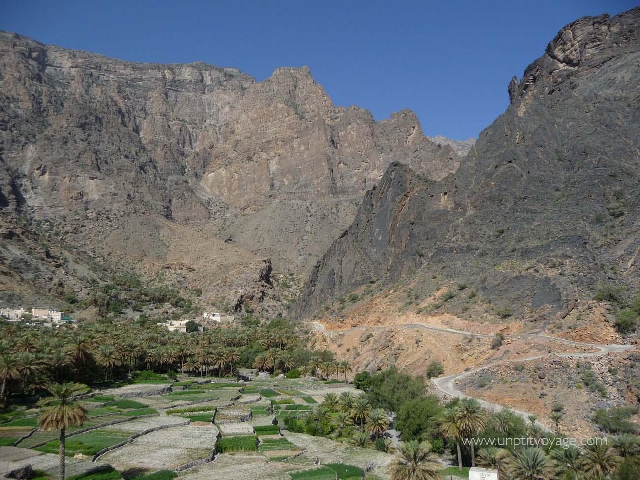 Oman-vers-jebel-shams