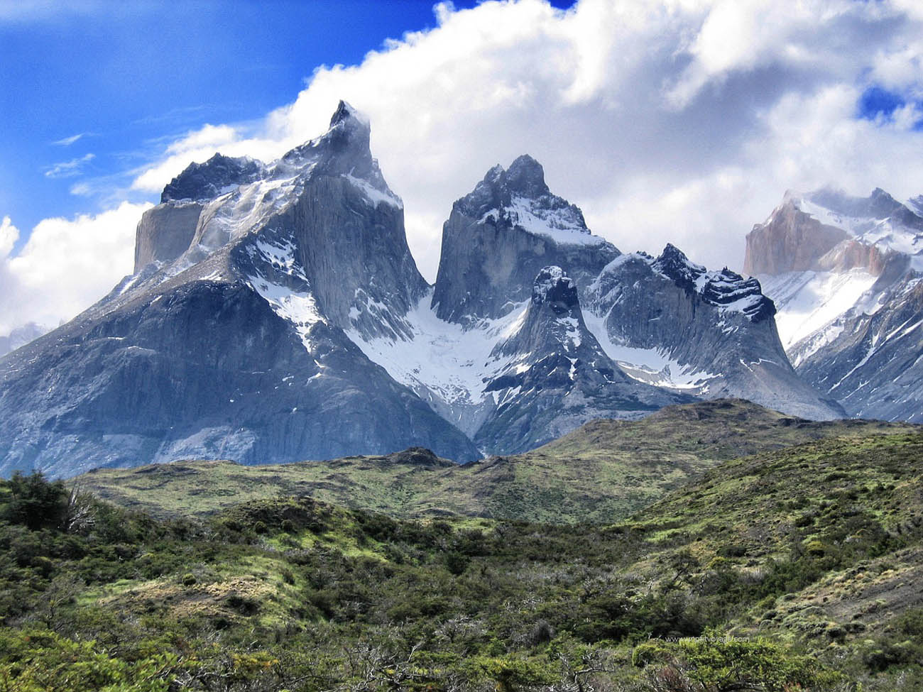 Chili-torres-del-paine-sommets
